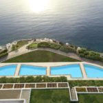 MInosPalace - aerial-sharing-pools-minos-palace-