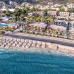 Blue Sea Beach - Aerial Panoramic